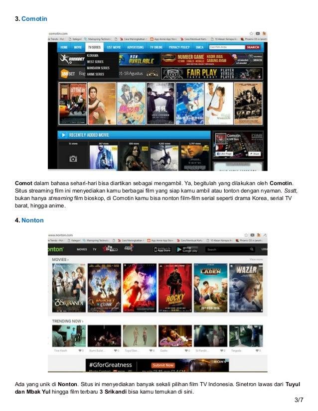 Jalantikus.com gratis ini dia 10 situs streaming film ...