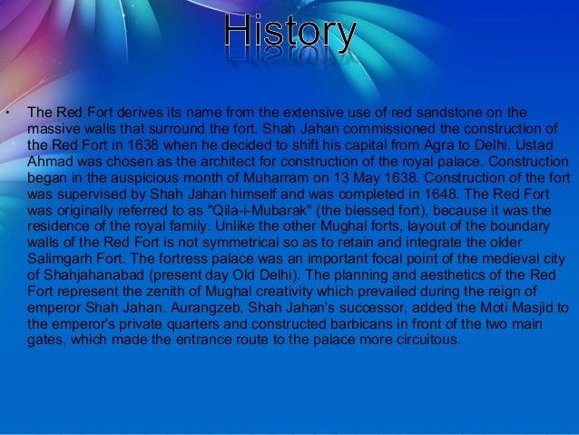 Ppt http://navnitjha2. Blogspot. Com/2018/06/red-fort-new-delhi.