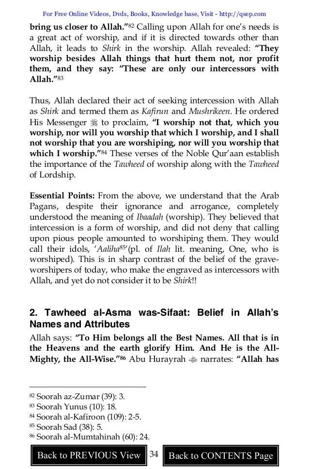 A Critical Study of Shirk, PublisherAl Hidaayah