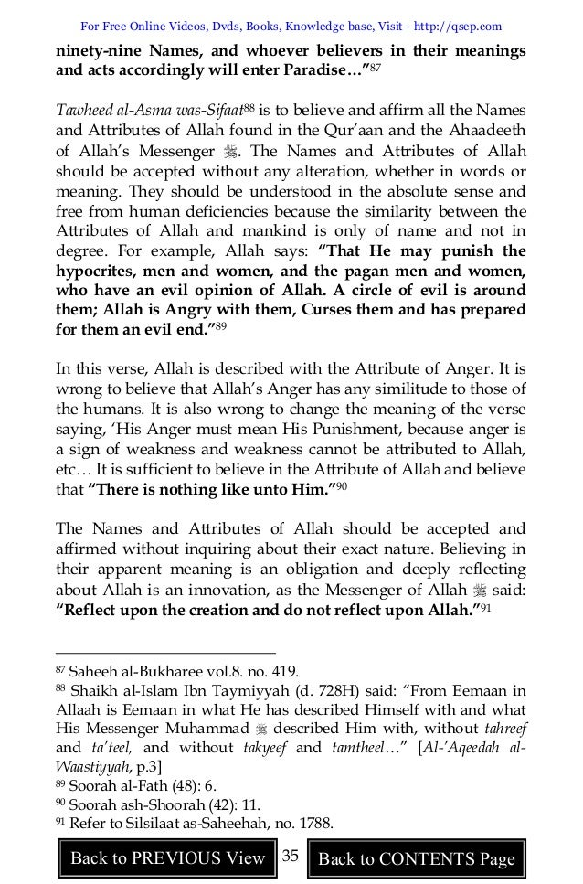 A Critical Study of Shirk : An Explanation of Muhammad ibn ...