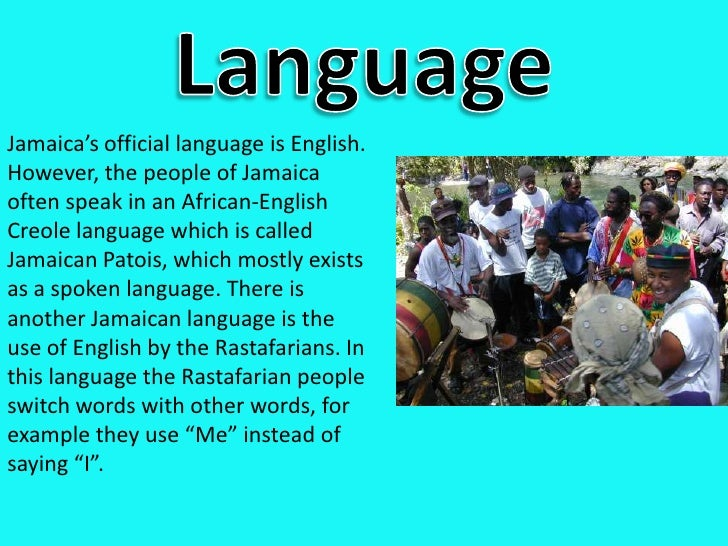 Jamaica - What is the official language of jamaica