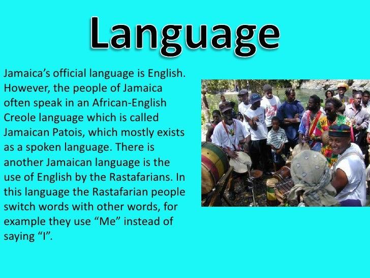 language within jamaica