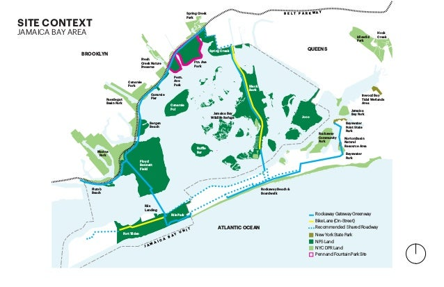 B E L T P A R K W A Y Floyd Bennett Field Canarsie Pier Bergen Beach Marine Park Plumb Beach Riis Landing Paerdegat Basin ...
