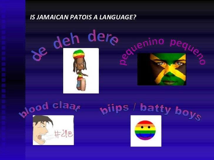 jamaican creole Full-text paper (pdf): an analysis of jamaican creole.