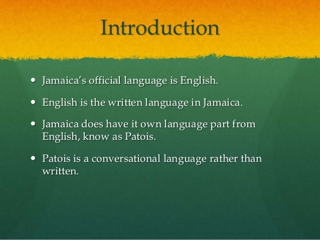 how to speak jamaican dialect