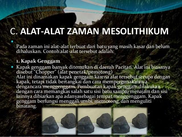Sejarah Zaman Mesolithikum Zaman Batu Tengah