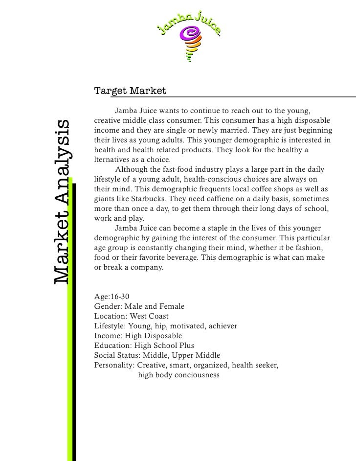 Juice Bar Marketing Plan & ideas – A Sample Template