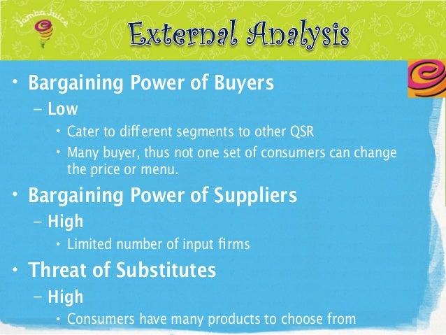 jamba juice external analysis