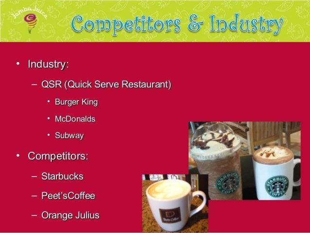 jamba juice competitors