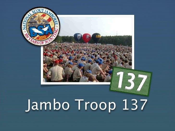 Jambo137 Orientation