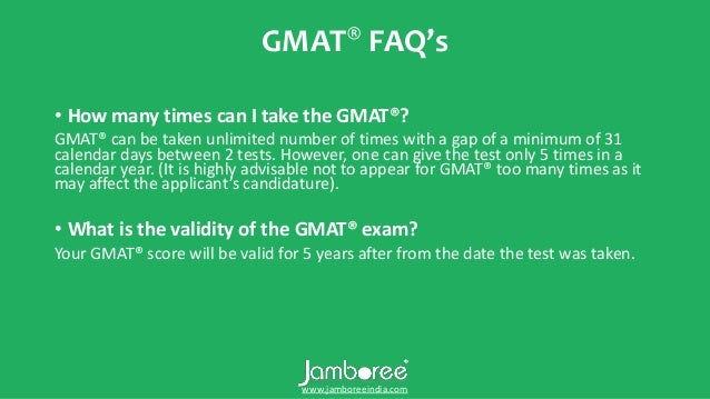 Jamboree gmat preparation, coaching, classes & training