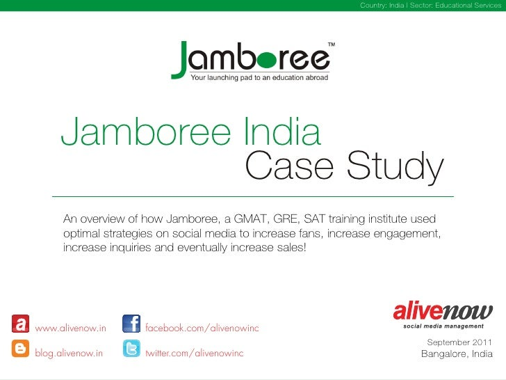 Country: India | Sector: Educational Services      Jamboree India               Case Study      An overview of how Jambore...