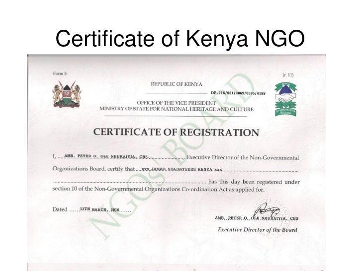 ngo volunteer certificate format - Ecza.solinf.co