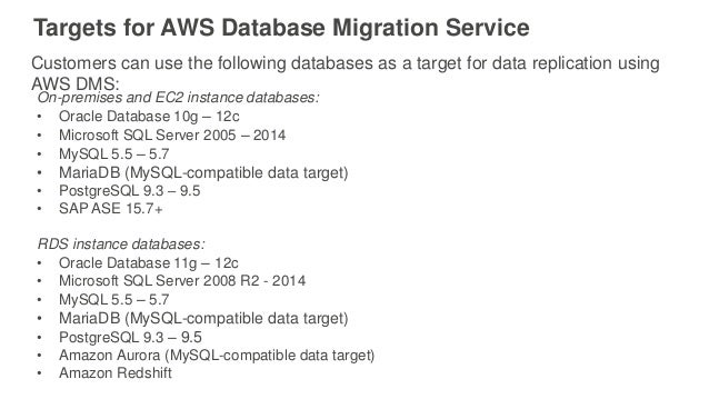 41 targets for aws aws resume points
