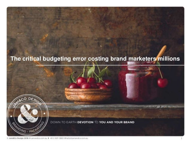 The critical budgeting error costing brand marketers millions 1