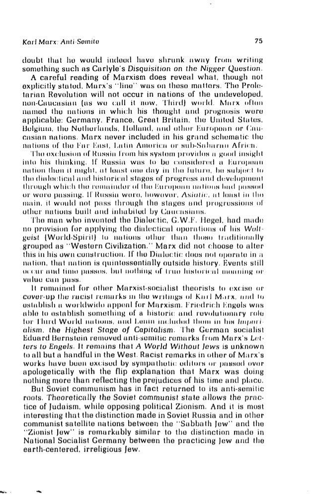 Marx the Myth and Marx the Man