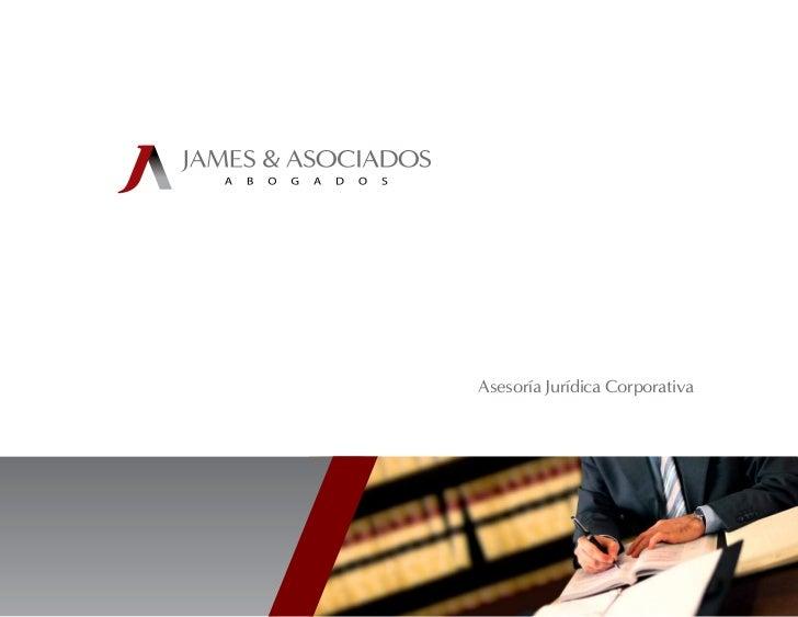 Asesoría Jurídica Corporativa