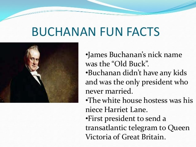 the life and accomplishments of james buchanan A society that suppresses the majority nancy maclean, author of an intellectual biography of james mcgill buchanan, explains how this little-known libertarian's work is influencing modern-day.