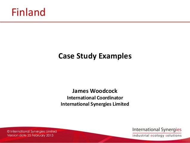research case study examples Appendix d case study methodology ideally case study research calls for selecting a few examples of the phenomenon to be.