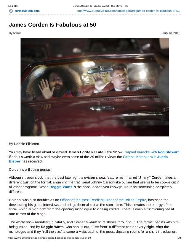 8/5/2015 James Corden Is Fabulous at 50   Our Movie Talk http://www.ourmovietalk.com/uncategorized/james-corden-is-fabulou...
