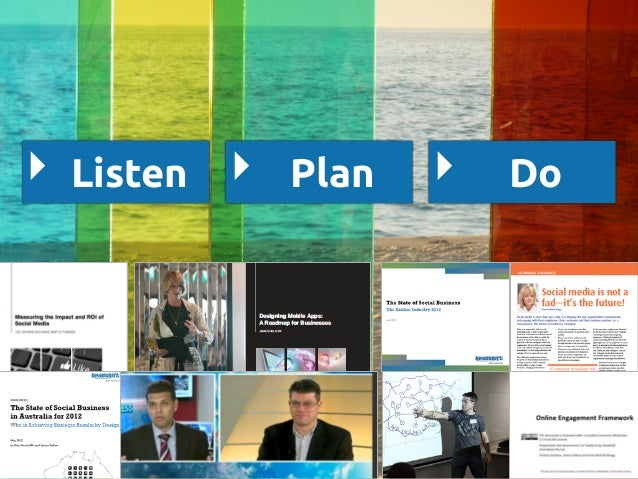 How to gain business value from social media & collaboration tools Slide 2