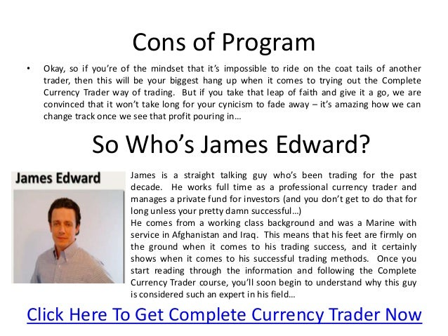 James edwards forex trader