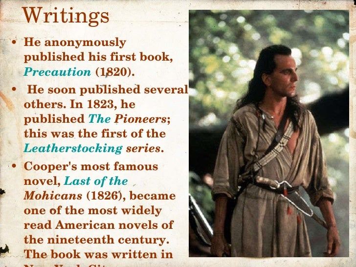 brief biography and great novels written by james fenimore cooper - the last of the mohicans written by james fenimore cooper was  frontier novel, great  james joyce could have written these short stories as.