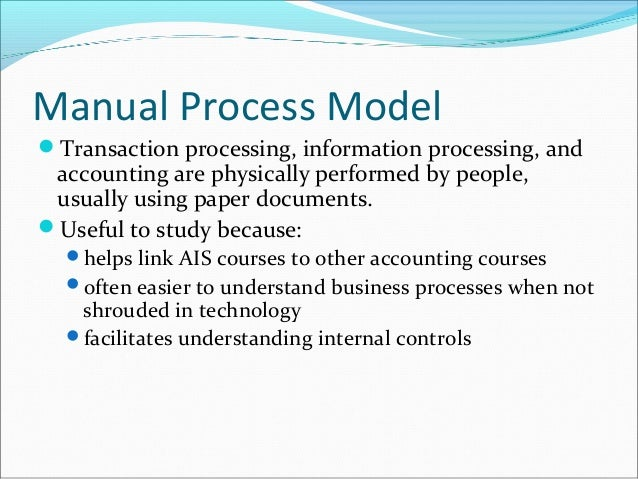 advantages and disadvantages of manual data processing