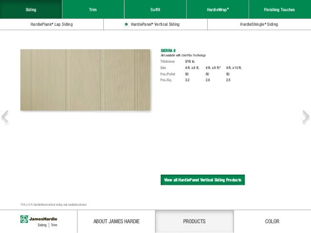 James Hardie® Product Catalog