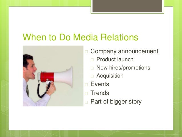 how to start a public relations company