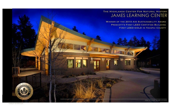 The Highlands Center For Natural History                               JAMES LEARNING CENTER                            Wi...