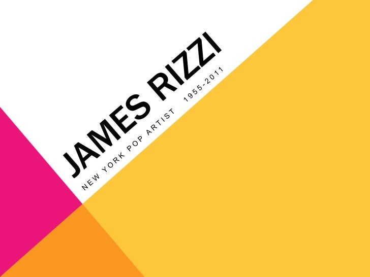 James Rizzi, modern pop artist, became famousfor the 3D paper sculptures he invented. Alsoloved were the playful and child...