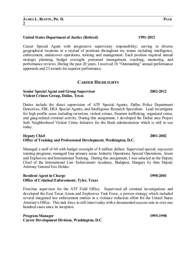 James Ruffin Resume 2014