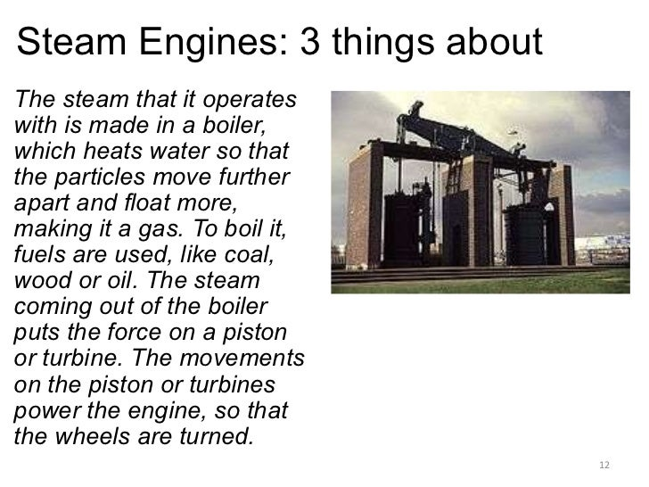 James watt and the steam engine