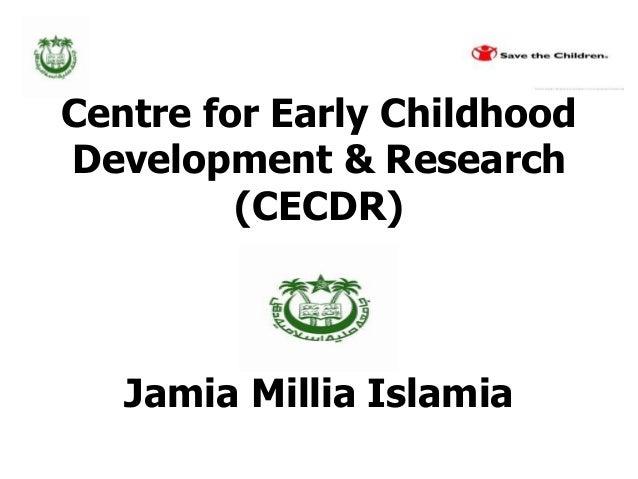 Jamia Millia Islamia Institution and EFA