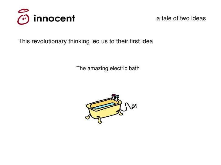 a tale of two ideas   This revolutionary thinking led us to their first idea                           The amazing electri...