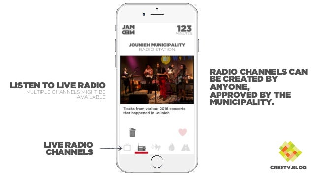 LIVE RADIO CHANNELS LISTEN TO LIVE RADIO MULTIPLE CHANNELS MIGHT BE AVAILABLE RADIO CHANNELS CAN BE CREATED BY ANYONE, APP...