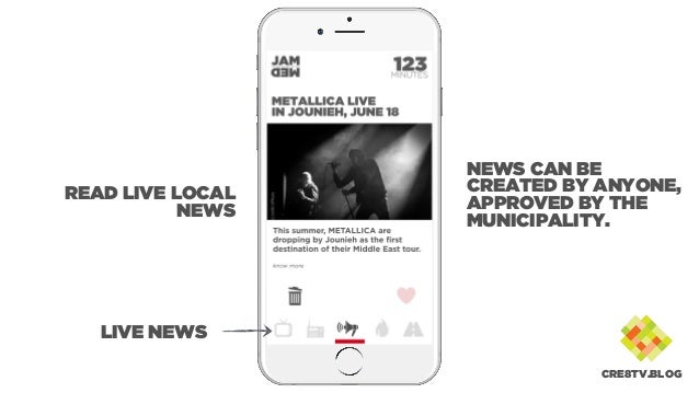 LIVE NEWS READ LIVE LOCAL NEWS NEWS CAN BE CREATED BY ANYONE, APPROVED BY THE MUNICIPALITY. CRE8TV.BLOG