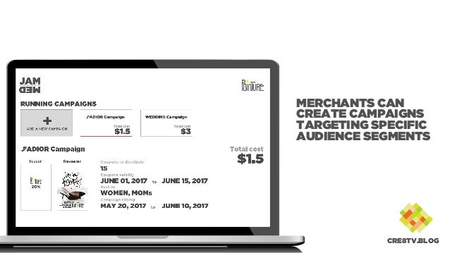 MERCHANTS CAN CREATE CAMPAIGNS TARGETING SPECIFIC AUDIENCE SEGMENTS CRE8TV.BLOG