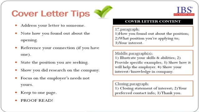 resume writing tips and interview skills