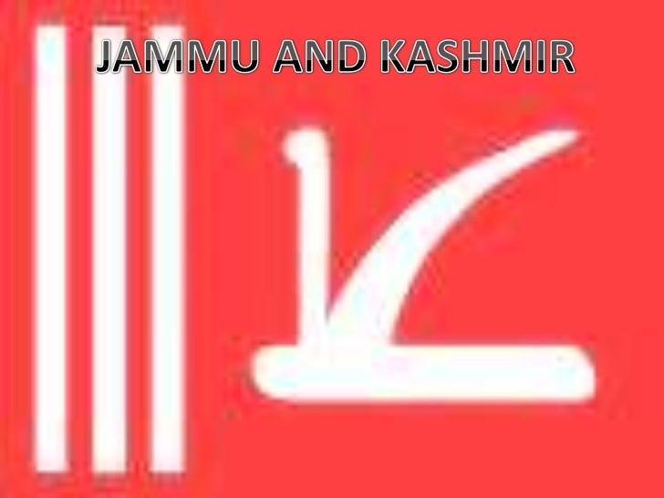 JAMMU AND KASHMIR<br />