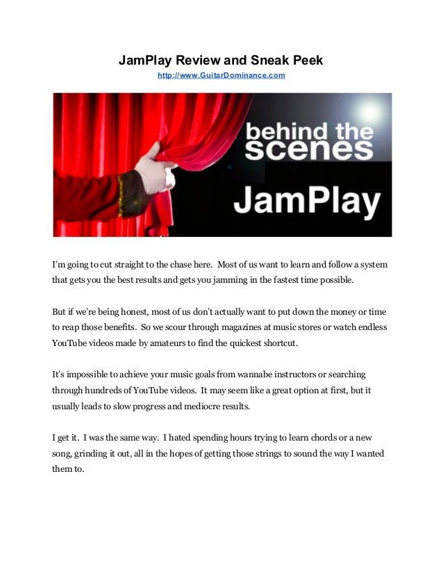 Jamplay Review And Sneak Peek Jamplay