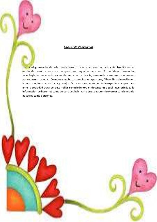 ANALISIS DE PARADIGMA  Slide 2