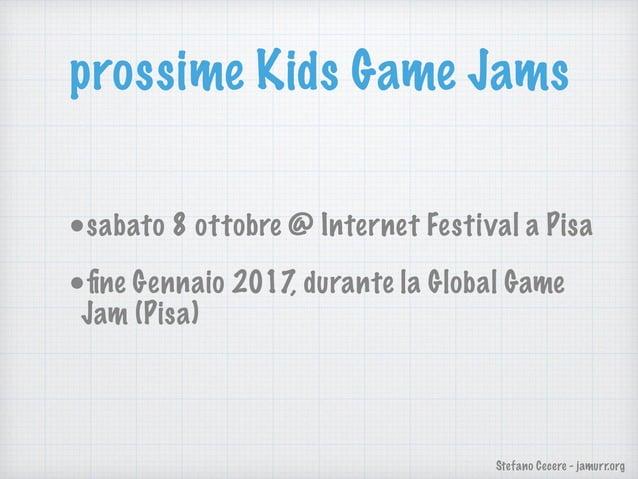 Stefano Cecere - jamurr.org Video Blog un video blog per bambini dove i tutors (sopratutto teenagers) parlano ai bambini d...
