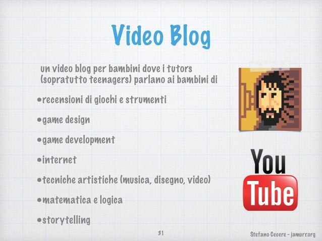 Stefano Cecere - jamurr.org Blog un blog da leggere con idee e riferimenti: •informazioni su eventi •analisi e critica dei...