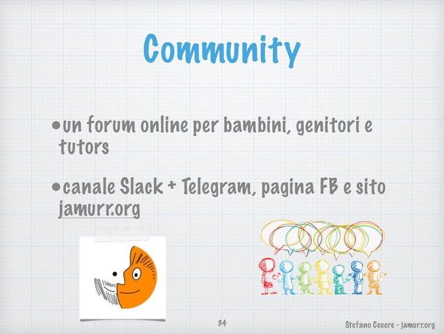 Stefano Cecere - jamurr.org Forma e Sostentamento Inizialmente siamo un libera associazione e potremmo formalizzarci in As...