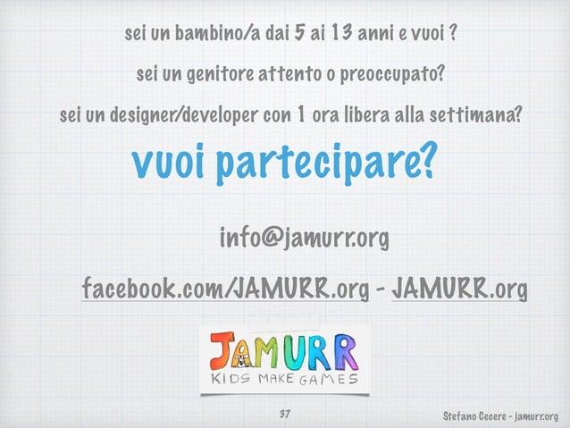 JAMURR - presentazione (2016)