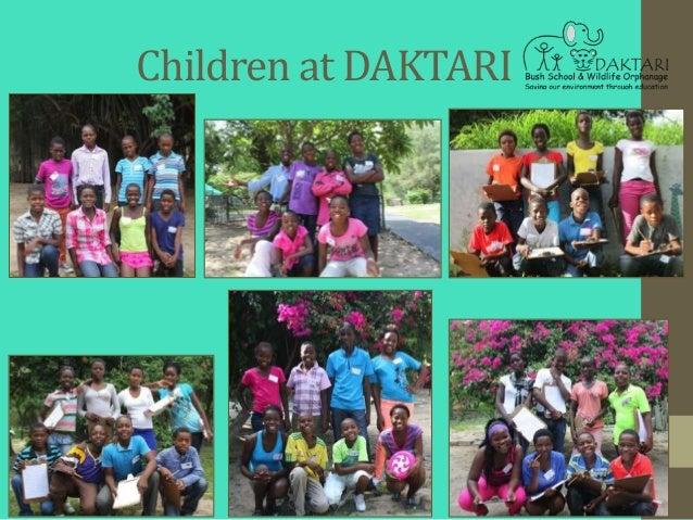 Children at DAKTARI