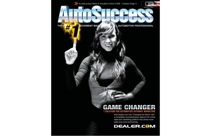 AutoSuccess Best of the Best NADA 2009 – Details Page 4                                                          January 2...