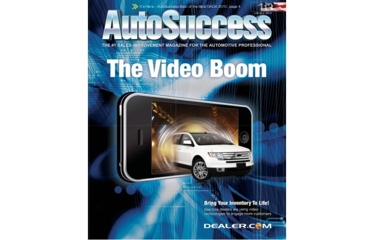 It's Here - AutoSuccess Best of the Best NADA 2010, page 4                                                             Jan...